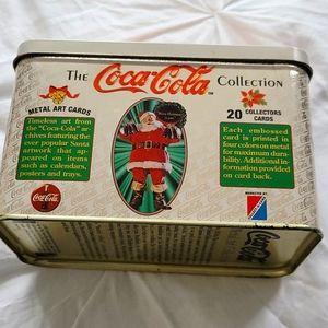 Coca-Cola Metal Art Card Collection 1994
